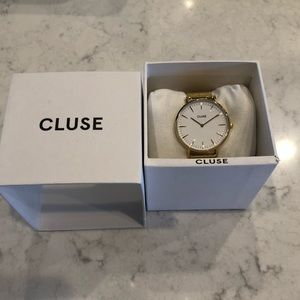 NWT Cluse Gold Watch
